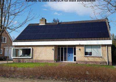 Kampen,-42-stuks-SUNTECH-full-black-zonnepanelen
