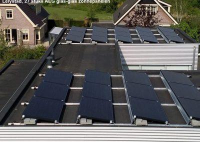 Lelystad,-27-stuks-AEG-glas-glas-zonnepanelen